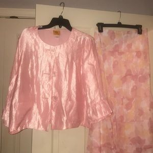 Jacket and skirt set.  Great for Easter 12/14